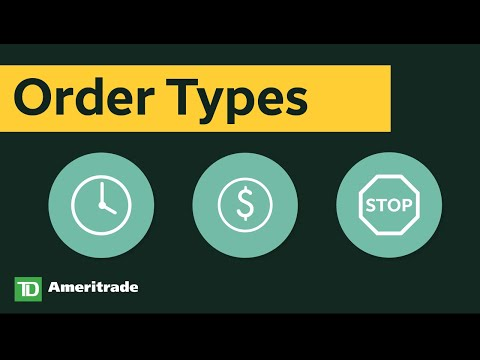 Stock Order Types: Limit Orders, Market Orders, and Stop Orders