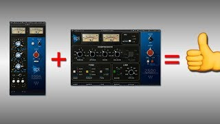 Drum Bus Mixing With the API 550A EQ & API 2500 Compressor by Waves