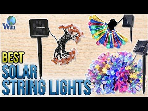 10 Best Solar String Lights 2018