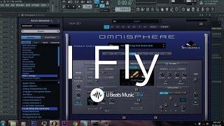 Sinach - I Fly (Instrumental Cover) - FL Studio 12