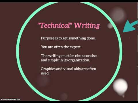 Intro To Technical Communication