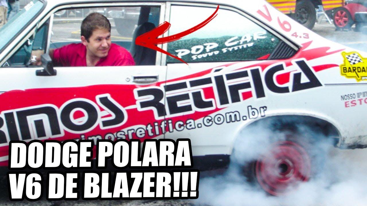 A HISTÓRIA DO MEU DODGE POLARA COM MOTOR 4.3 V6 DE BLAZER!!🔥🔥 A-N-I-M-A-L!!!