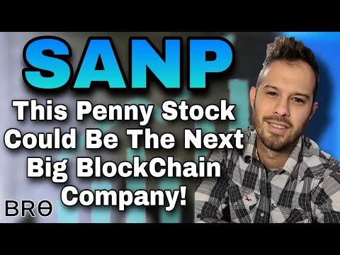 This Penny Stock Is In The Blockchain Space And May See Huge Returns In 2021 SANP Stock Santo Mining