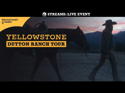 Support Your Mental Health with this Soothing Trip to the Yellowstone Dutton Ranch
