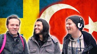 Svenskar försöker prata turkiska - Language Challenge