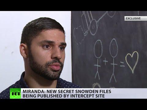 'A lot of surprises': New secret Snowden files leak coming – activist Miranda