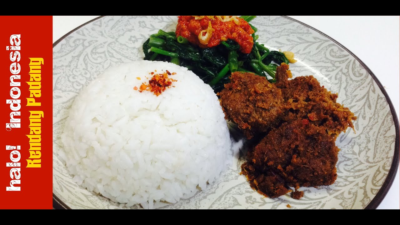 Resep Rendang Padang Padang S Beef Rendang Recipe H Indonesia Youtube