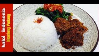 Resep Rendang Padang | Padang's Beef Rendang Recipe - H! Indonesia
