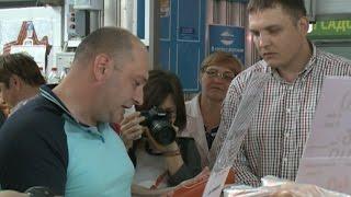 Народные контролеры в Череповце проверили городской рынок