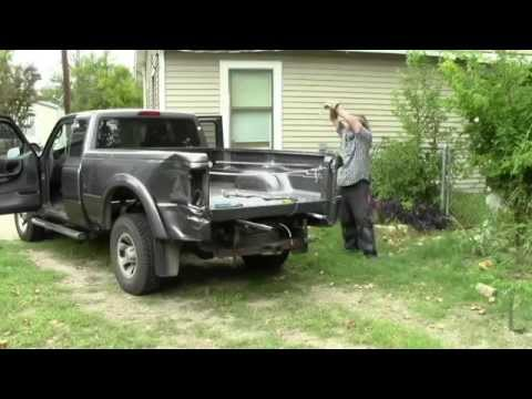 1996 ford ranger truck bed dimensions