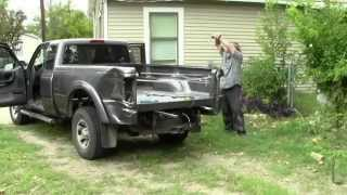 Removing my 2004 Ford Ranger truck bed