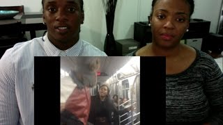 Man Smacks The Soul Out Of Girl on NYC Subway | HodgeTwins