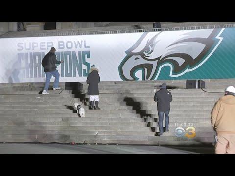 Philadelphia eagles super bowl parade route map