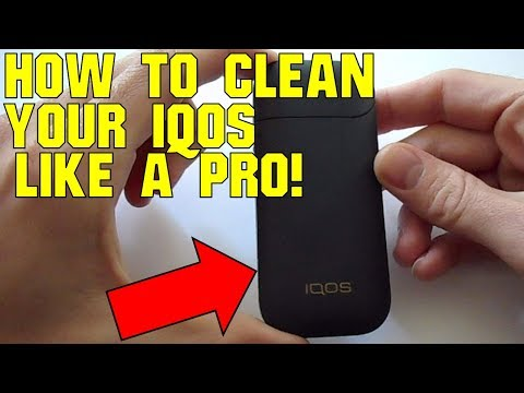 How to clean your IQOS like a pro.