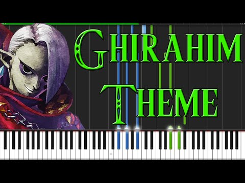 Ghirahim Theme - The Legend of Zelda: Skyward Sword [Piano Tutorial] (Synthesia)