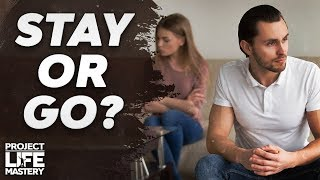 My Wife Cheated On Me… Should I Stay Or Leave?