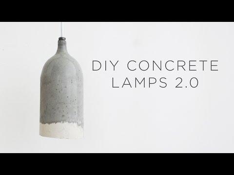DIY Concrete Pendant Lamps 2.0 | Design updates