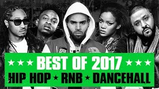 Gambar cover 🔥 Hot Right Now - Best of 2017 | Best R&B Hip Hop Rap Dancehall Songs of 2017 | New Year 2018 Mix