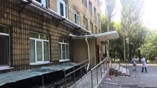07.08.14 (г.Донецк, ДНР) Улица Розы Люксембург (д. 78-82) после артобстрела украинской армией (ч.3)