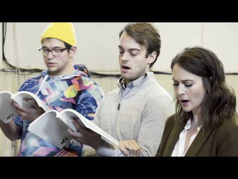"""RAGTIME - """"New Music"""" Rehearsal for Axelrod Performing Arts Center"""