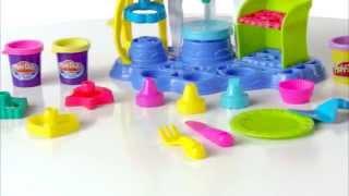 Пластилин Play-Doh Фабрика пирожных Hasbro A0318(Купить: http://www.toysfest.ru/product/60736/?ref=you Фабрика пирожных от Play-Doh -- это не просто пластилин, а целый игровой набор,..., 2014-05-23T08:15:23.000Z)