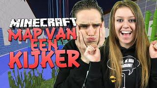 IK VIND HELEMAAL MOOI! - Minecraft Map van een Kijker met mijn vriendin