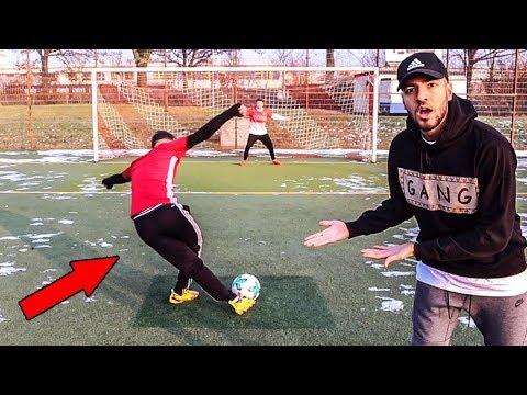 Meine BESTE FUßBALL CHALLENGE vs Proownez & Cubanito 😍⚽ - Wakez