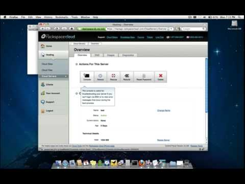 Rackspace Cloud Servers for Windows Demo