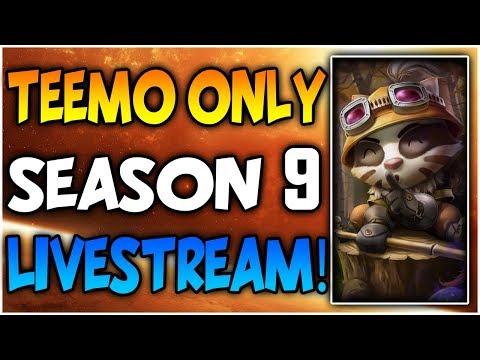 Diamond Teemo to Masters Only - Ranked Solo Season 9