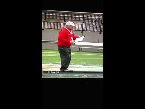 Coach Dan Reeves