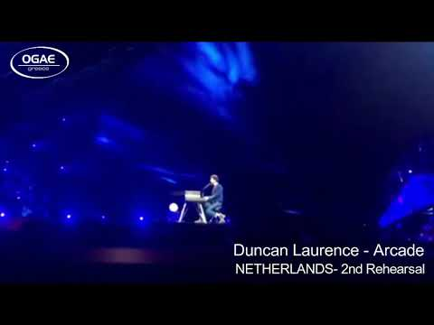 NETHERLANDS 2019 - Duncan Laurence  - Arcade - 2nd Rehearsal
