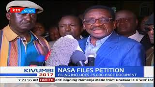 """""""We have electronic evidence including words from the late Chris Msando"""" Senator elect James Orengo"""
