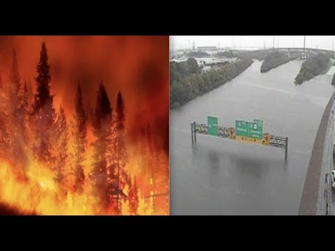 """Apocalyptic America - Historic Fires / Historic Floods - Evacuees """"Never seen anything like it"""""""