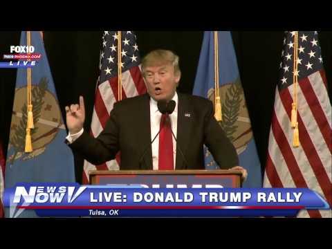 LIVE: Donald Trump Rally In Tulsa, OK - FULL (Plus Sarah Palin Appearance)