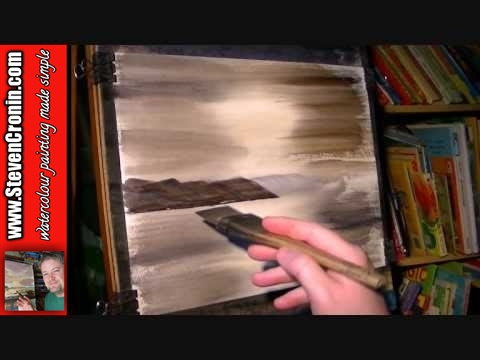 Loch Muick, Cairngorms Part 1 of 2 Watercolor Landscape Painting Lesson