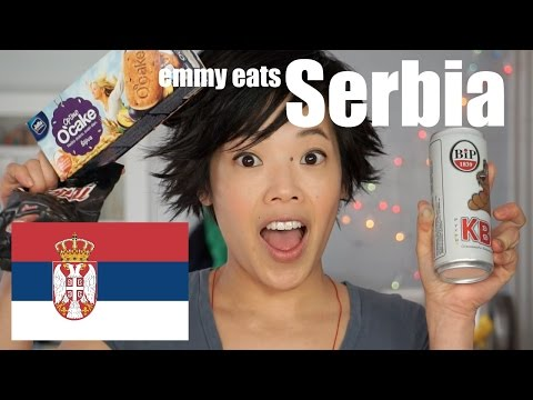 Emmy Eats Serbia - an American tasting Serbian treats