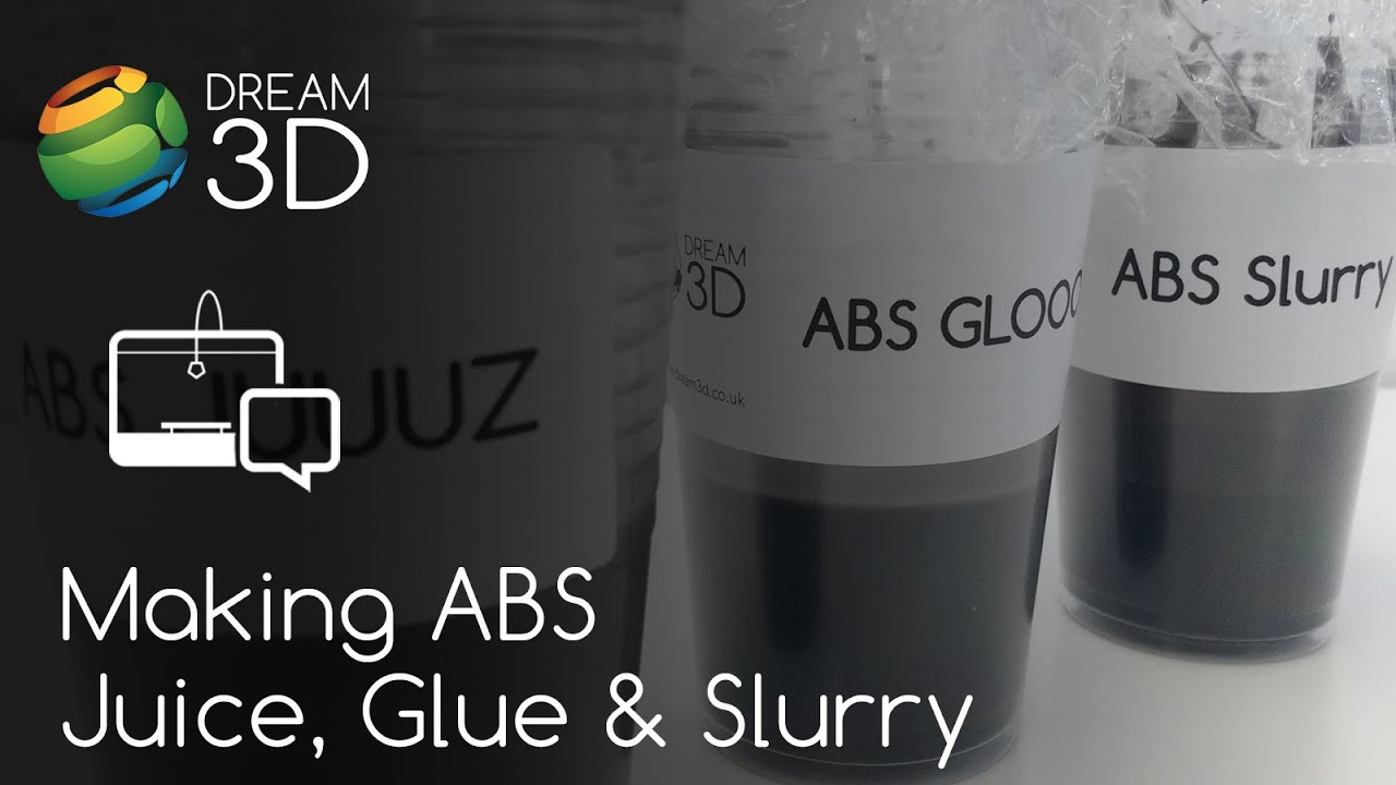Abs Glue Making Abs Juice Glue Slurry Tutorial Dream 3d