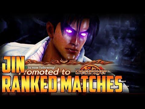 TEKKEN 7   Massive Jin Session, Struggle For Destroyer, Again!