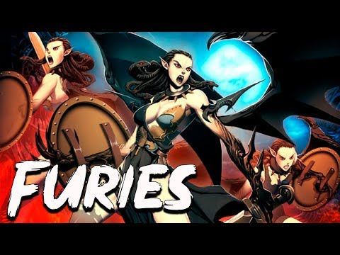 Furies (Erinyes) The Deities Of Vegence In Greek Mythology - See U In History