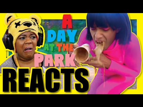 Try Not To Laugh | A Day At The Park | Brandon Rogers Reaction | AyChristene Reacts