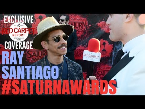 Ray Santiago #AshVsEvilDead interviewed at the 44th Annual Saturn Awards Red Carpet #SaturnAwards