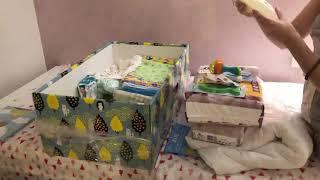 Baby box 2019 Kyiv. Unpacking. Бейби бокс 2019. Бэби бокс