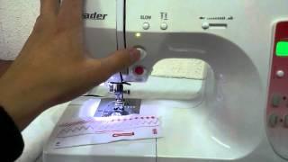 видео Швейная машинка Leader VS 775E