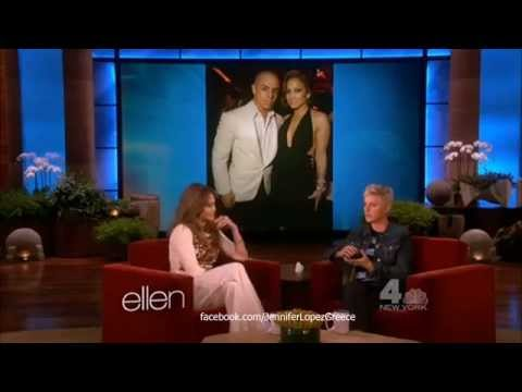 Jennifer Lopez - The Ellen Show: Talks Exes Diddy & Affleck at Golden Globes 16/1/13
