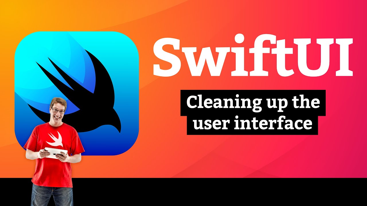 BetterRest 7/7: Cleaning up the user interface – SwiftUI Tutorial