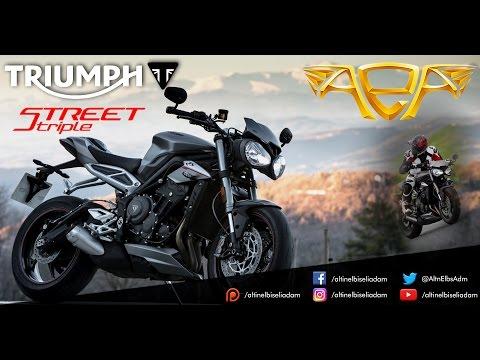 Triumph'un Yeni Gözdesi: Street Triple 2017