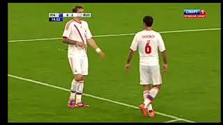Италия 0 3 Россия Товарищиский матч 2012