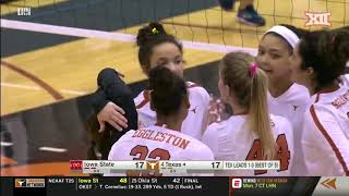 Iowa State vs Texas Volleyball Highlights