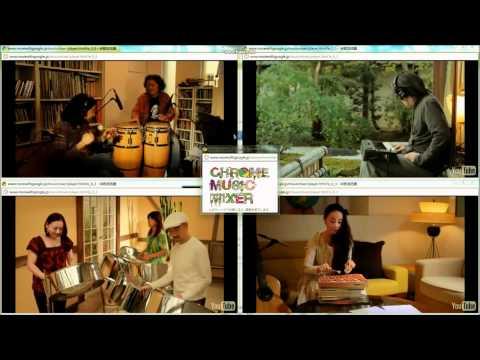 Chrome Music Mixer