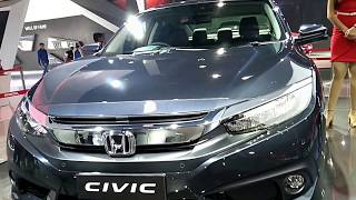 Honda Civic Luxury Car (New) (Indian Auto Expo 2018) : First Look and Preview (Musical)
